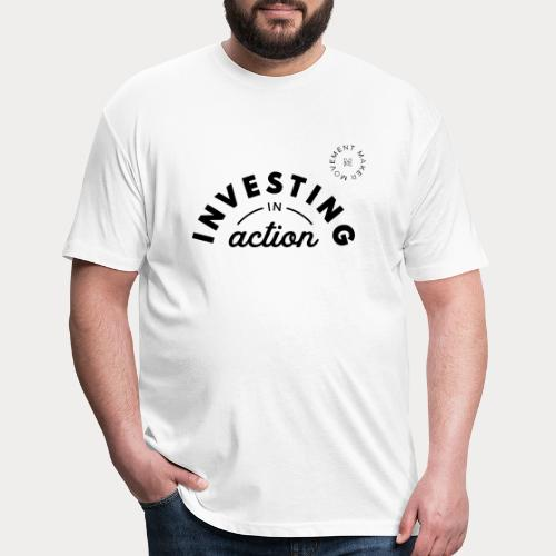 Investing in Action - Fitted Cotton/Poly T-Shirt by Next Level