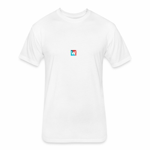 3 - Fitted Cotton/Poly T-Shirt by Next Level