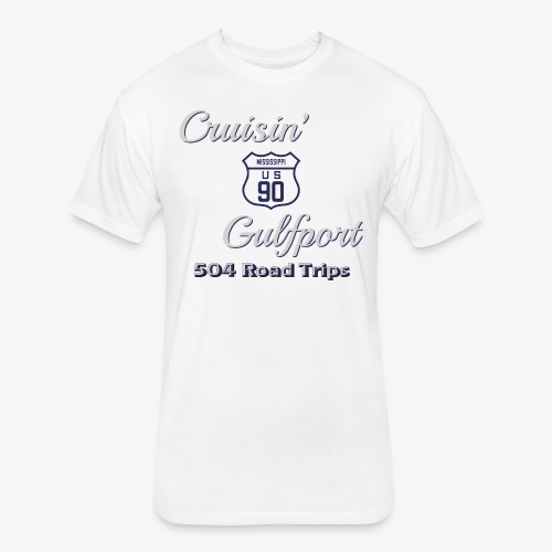 Cruisin Gulfport US90 - Fitted Cotton/Poly T-Shirt by Next Level