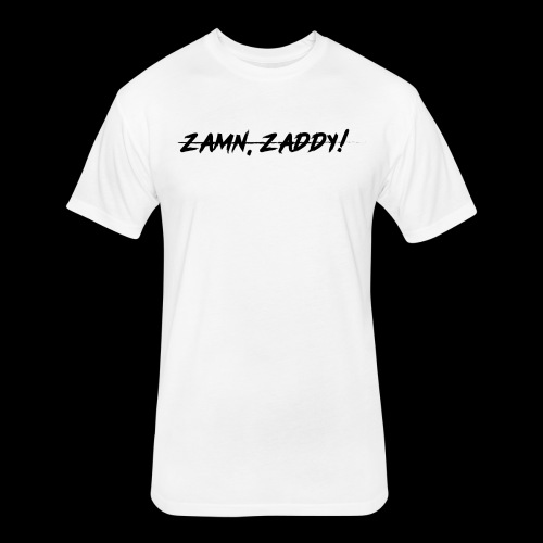 Well, zamn, Zaddy! - Fitted Cotton/Poly T-Shirt by Next Level