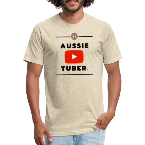 Aussie Youtuber - Fitted Cotton/Poly T-Shirt by Next Level