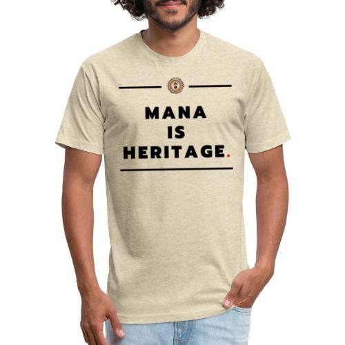 Mana - Fitted Cotton/Poly T-Shirt by Next Level