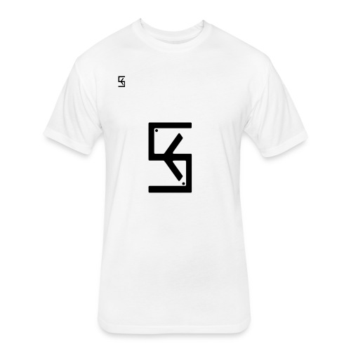 Soft Kore Logo Black - Fitted Cotton/Poly T-Shirt by Next Level