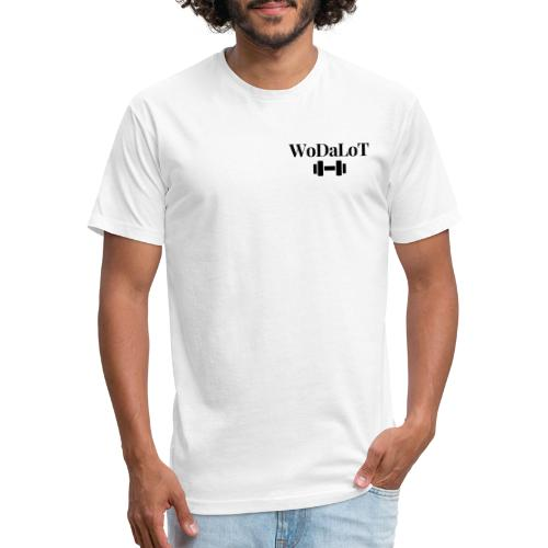 WoDaLoT black logo - Fitted Cotton/Poly T-Shirt by Next Level