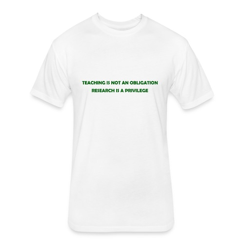 Teaching - Fitted Cotton/Poly T-Shirt by Next Level