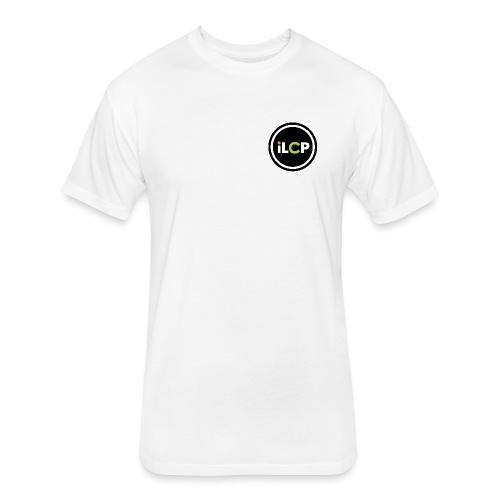 iLCP logo circle - Fitted Cotton/Poly T-Shirt by Next Level
