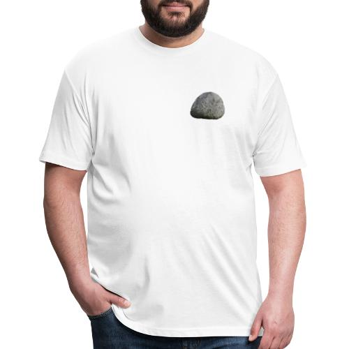 Stone's Boulder - Fitted Cotton/Poly T-Shirt by Next Level