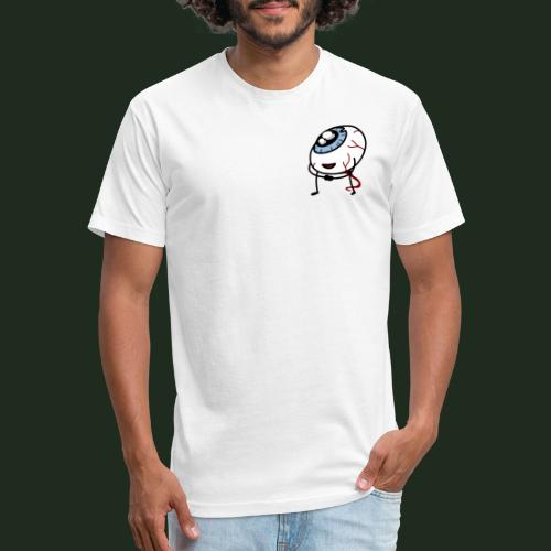 Eyeball - Fitted Cotton/Poly T-Shirt by Next Level
