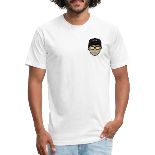 Bro Emote - Fitted Cotton/Poly T-Shirt by Next Level