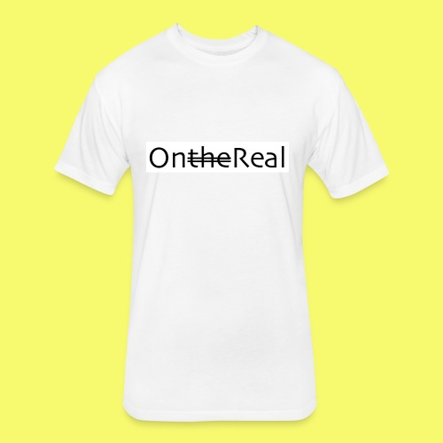 OntheReal ice 2 - Fitted Cotton/Poly T-Shirt by Next Level