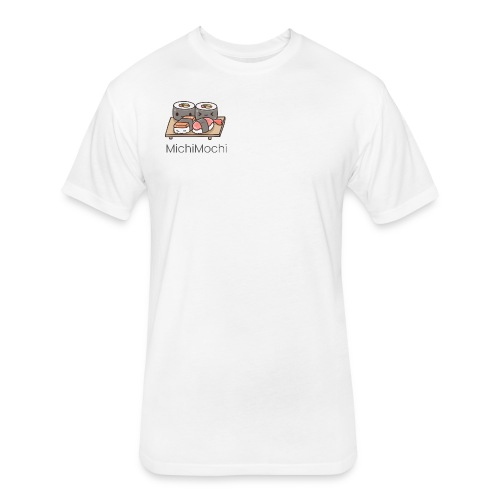 Sushi Cuisine - Fitted Cotton/Poly T-Shirt by Next Level