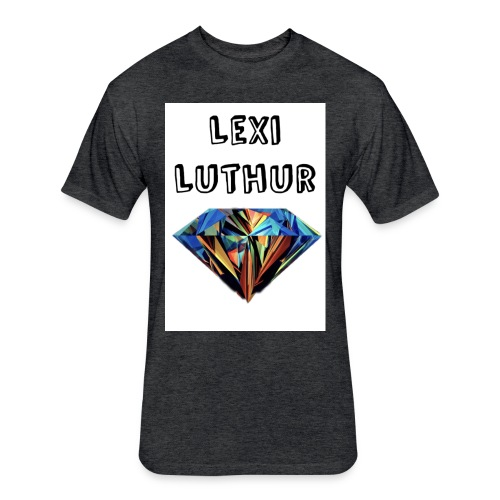 Lexi Luthur Diamond Tee - Fitted Cotton/Poly T-Shirt by Next Level
