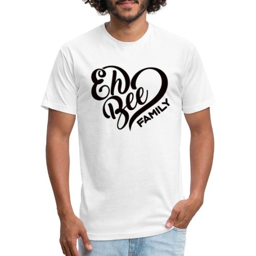 EhBeeBlackLRG - Fitted Cotton/Poly T-Shirt by Next Level