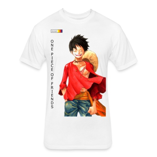 ONE PIECE SOLO - Fitted Cotton/Poly T-Shirt by Next Level