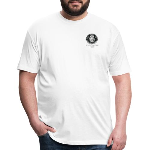 motivation apparel lion - Fitted Cotton/Poly T-Shirt by Next Level