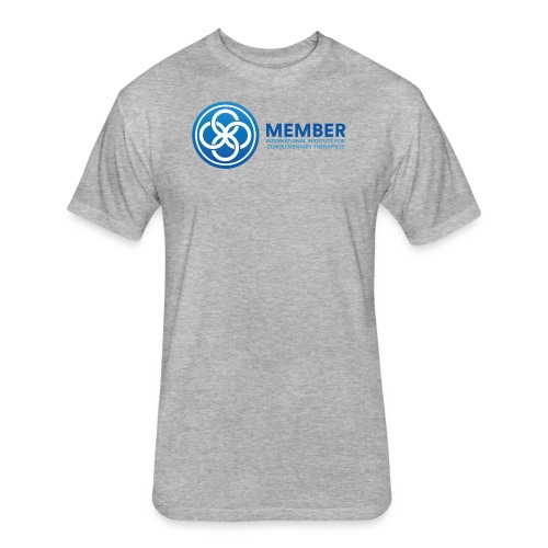 IICT Member Logo - Fitted Cotton/Poly T-Shirt by Next Level