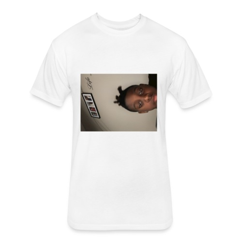Side me in IRL - Fitted Cotton/Poly T-Shirt by Next Level