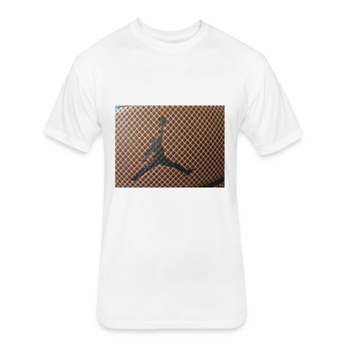 Basket boyy - Fitted Cotton/Poly T-Shirt by Next Level