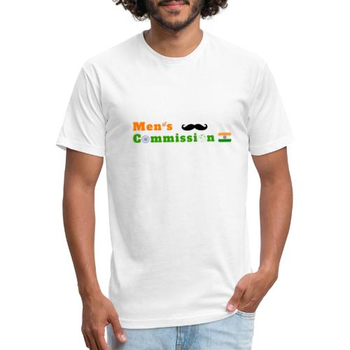 Mens Commission India - Fitted Cotton/Poly T-Shirt by Next Level