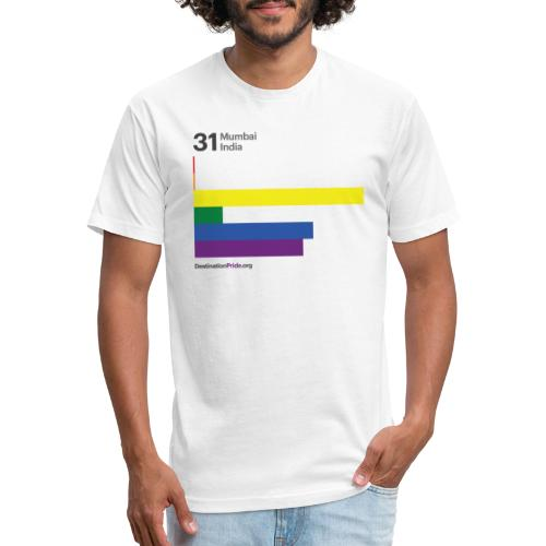 2019 Top 10 - Mumbai, India - Fitted Cotton/Poly T-Shirt by Next Level