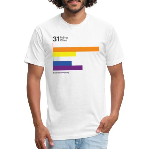 2019 Top 10 - Bejing, China - Fitted Cotton/Poly T-Shirt by Next Level