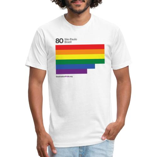 2019 Top 10 - Sao Paulo, Brazil - Fitted Cotton/Poly T-Shirt by Next Level