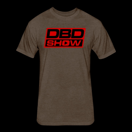 DBD Show Official Logo - Fitted Cotton/Poly T-Shirt by Next Level