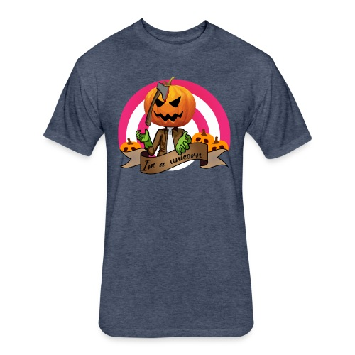 I'm A Unicorn Halloween - Fitted Cotton/Poly T-Shirt by Next Level