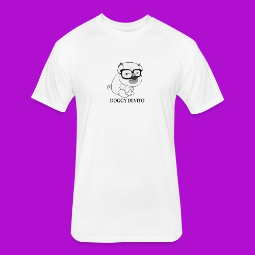 DOGGY DEVITO DESIGN - Fitted Cotton/Poly T-Shirt by Next Level