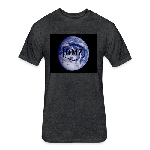 DMZ Apparel - Fitted Cotton/Poly T-Shirt by Next Level