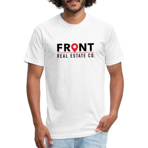 Front REC - Fitted Cotton/Poly T-Shirt by Next Level
