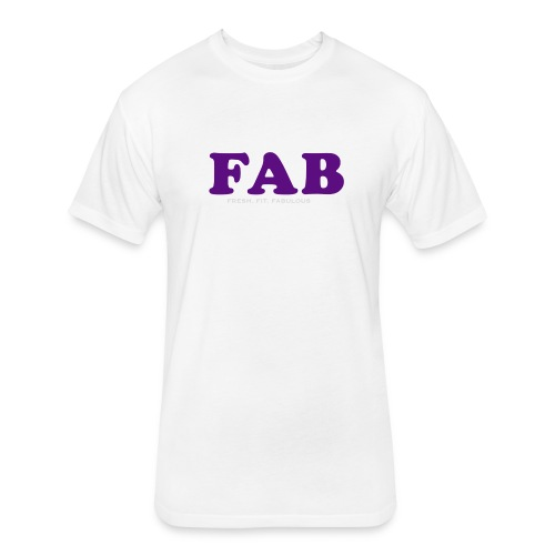 FAB Tank - Fitted Cotton/Poly T-Shirt by Next Level