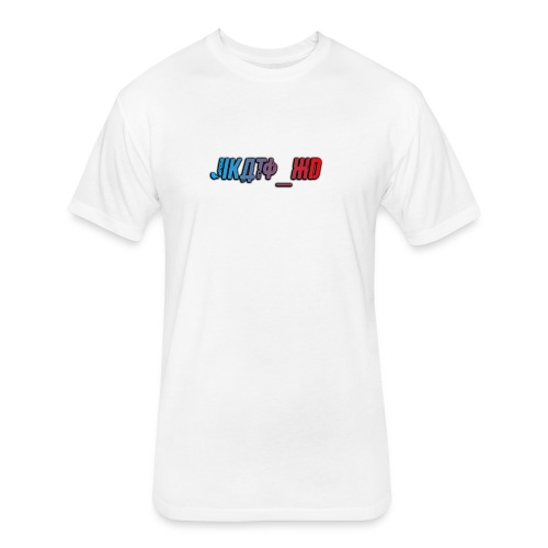 Jikato XD - Fitted Cotton/Poly T-Shirt by Next Level