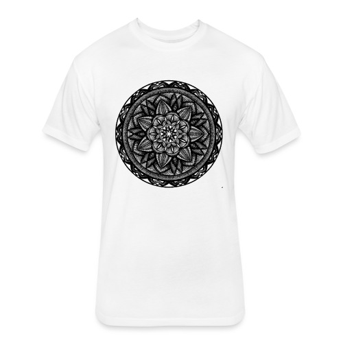 Circle No.2 - Fitted Cotton/Poly T-Shirt by Next Level