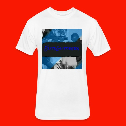EliteGlitchersRevamp - Fitted Cotton/Poly T-Shirt by Next Level