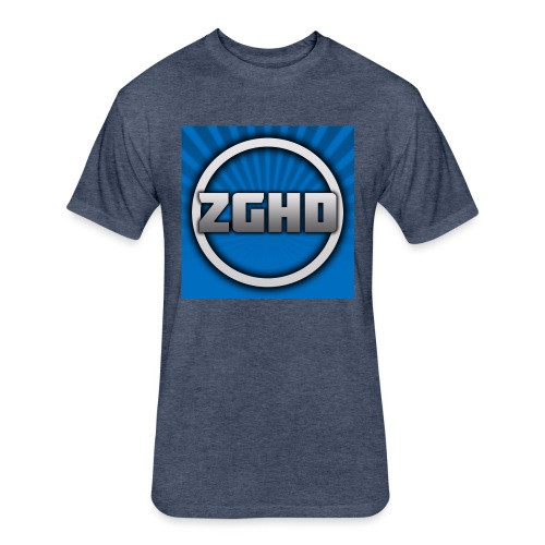 ZedGamesHD - Fitted Cotton/Poly T-Shirt by Next Level