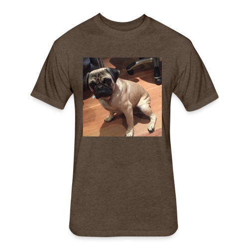 Gizmo Fat - Fitted Cotton/Poly T-Shirt by Next Level