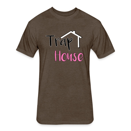 Trap House inspired by 2 Chainz. - Fitted Cotton/Poly T-Shirt by Next Level