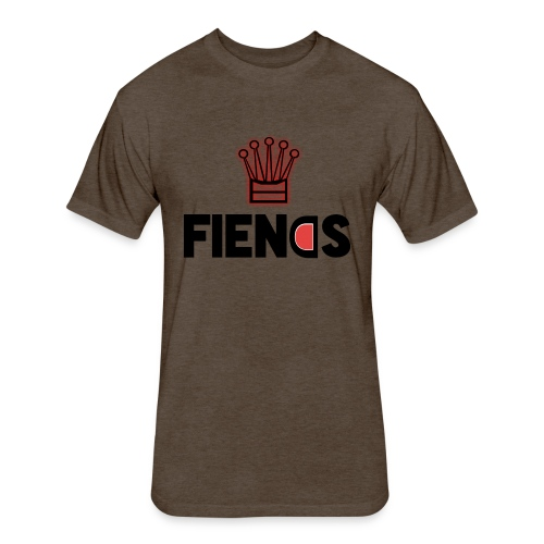 Fiends Design - Fitted Cotton/Poly T-Shirt by Next Level