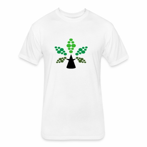 Tri City TriChomes FINAL LOGO 645AM 1 - Fitted Cotton/Poly T-Shirt by Next Level
