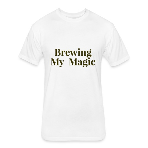 Brewing My Magic Women's Tee - Fitted Cotton/Poly T-Shirt by Next Level