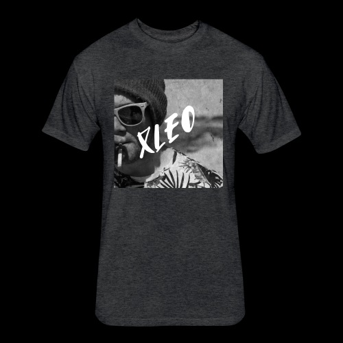 Xleo - Fitted Cotton/Poly T-Shirt by Next Level