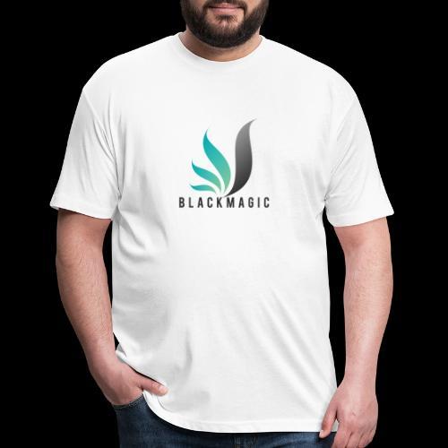 2D47ADE5 BBF6 49B1 A1C2 5E36469024B7 - Fitted Cotton/Poly T-Shirt by Next Level