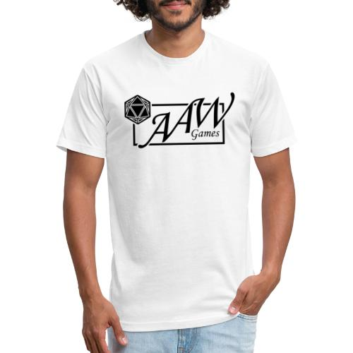 AAW Games (black logo) - Fitted Cotton/Poly T-Shirt by Next Level