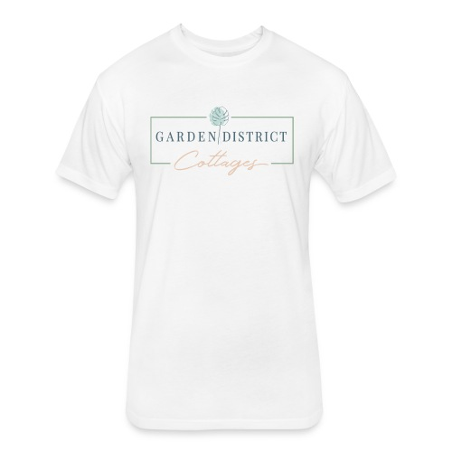 Garden District Cottages Pensacola - Fitted Cotton/Poly T-Shirt by Next Level
