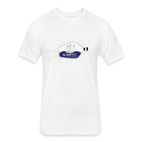 Bottle Graphic - Fitted Cotton/Poly T-Shirt by Next Level