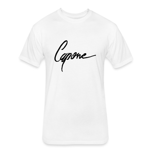 Capone - Fitted Cotton/Poly T-Shirt by Next Level