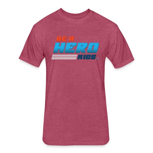 BHK secondary full color stylized TM - Fitted Cotton/Poly T-Shirt by Next Level