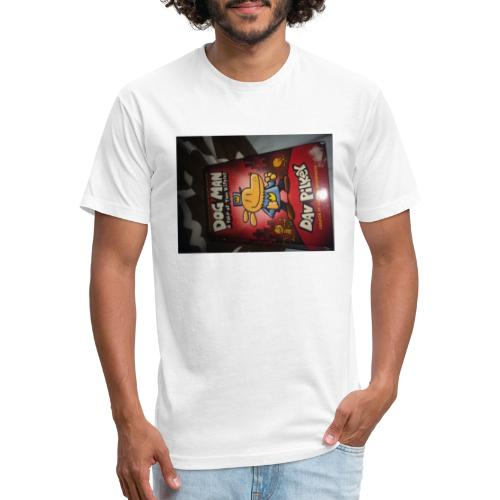 justin - Fitted Cotton/Poly T-Shirt by Next Level