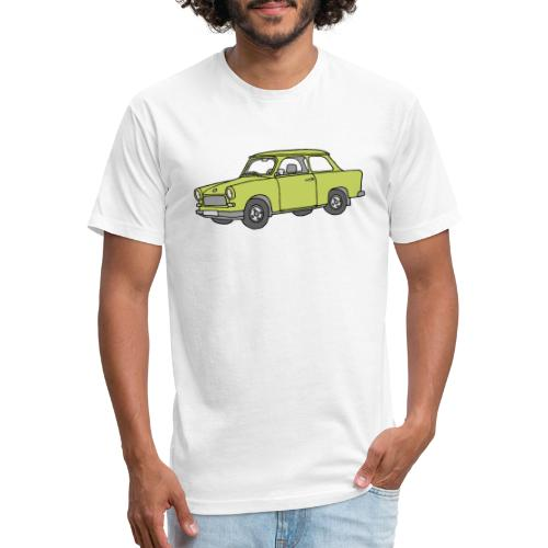 Trabant (baligreen car) - Fitted Cotton/Poly T-Shirt by Next Level